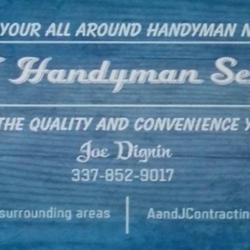 Handyman Provider Joe Dignin's Profile Picture