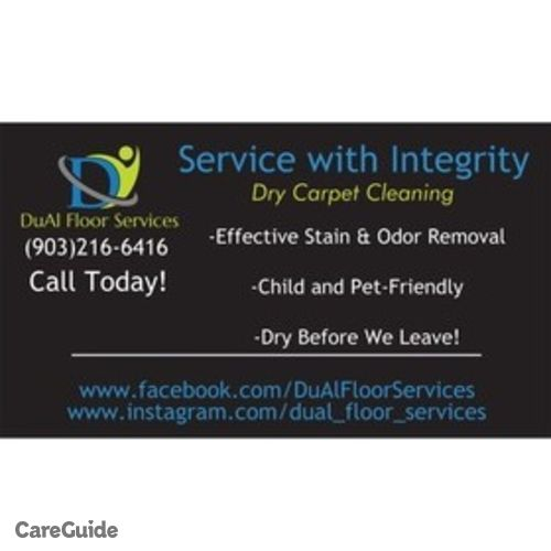 Housekeeper Provider DuAl Dry Carpet Cleaning's Profile Picture
