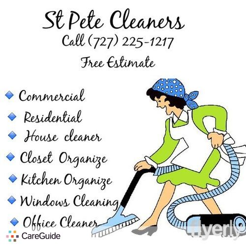 Housekeeper Provider StPete Cleaners's Profile Picture