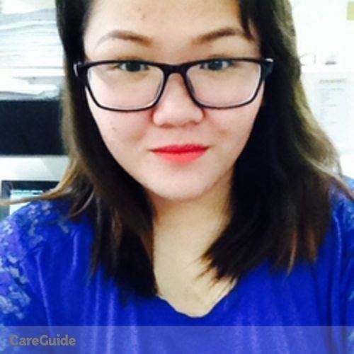 Canadian Nanny Provider Jan Nicolette Marasigan's Profile Picture