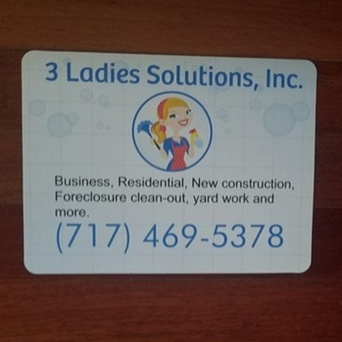 Housekeeper Provider Terri 3 Ladies Solutions's Profile Picture