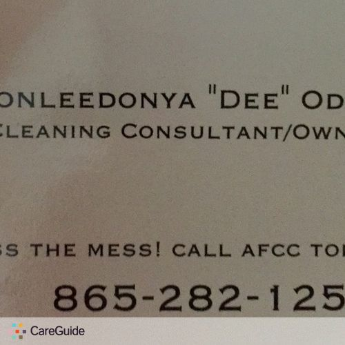 Housekeeper Provider Chonleedonya O's Profile Picture