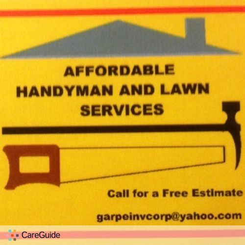 Handyman Provider Giovanni Garcia's Profile Picture
