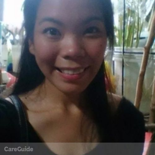 Canadian Nanny Provider Maricel Casingal's Profile Picture