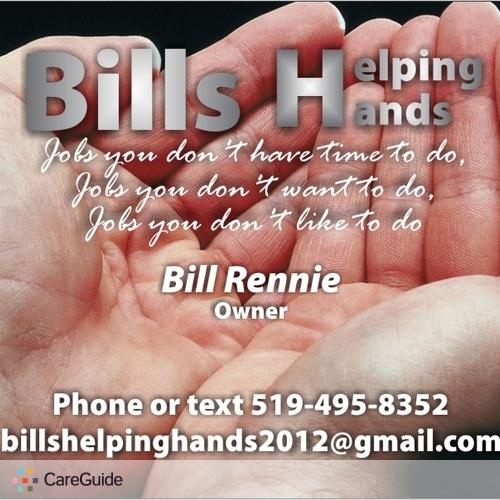 Handyman Provider Bill Rennie's Profile Picture