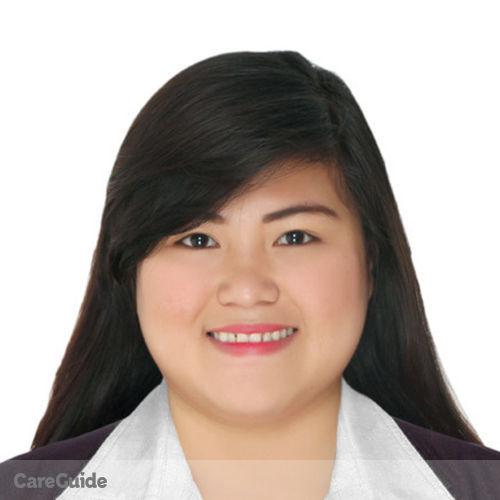 Canadian Nanny Provider Joriza Juatan's Profile Picture