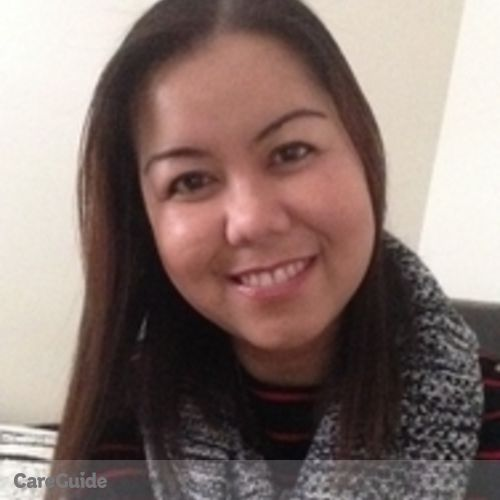 Canadian Nanny Provider Rosalyn Ponteras's Profile Picture