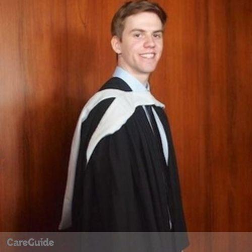 Canadian Nanny Provider Matthew P's Profile Picture