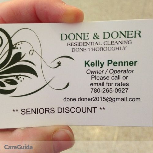 Housekeeper Provider Kelly Penner's Profile Picture