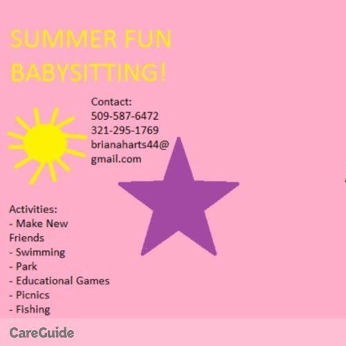 Child Care Provider Briana S's Profile Picture