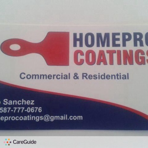 Painter Provider HomePro Coatings's Profile Picture