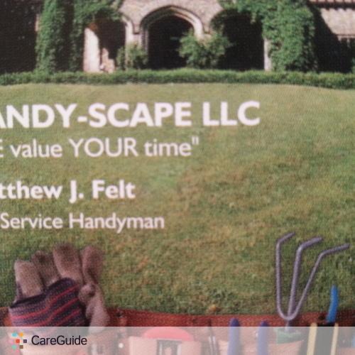 Handyman Provider Matthew Felt's Profile Picture