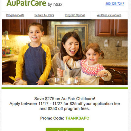 Child Care Provider AUPAIRCARE can help you find Childcare this Winter! Go to our website for more info and sign up to Host An Au Pair Today!'s Profile Picture