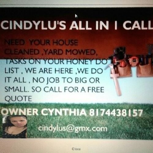 Housekeeper Provider Cynthia Ramos's Profile Picture