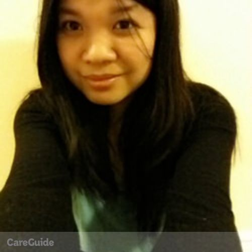 Canadian Nanny Provider Ronalyn M's Profile Picture