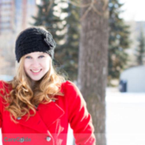 Canadian Nanny Provider Kirsten C's Profile Picture