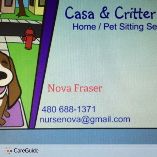 Pet Care Provider Nova Fraser's Profile Picture