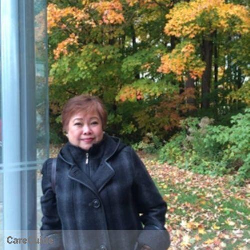 Canadian Nanny Provider Maria Anita Dollente's Profile Picture