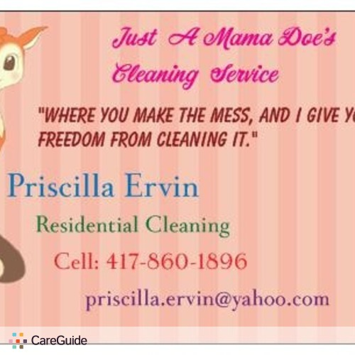 Housekeeper Provider Pre Ervin's Profile Picture