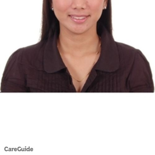 Canadian Nanny Provider Jolina Mae Niego's Profile Picture