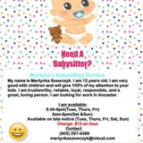Martynka's Babysitting Service
