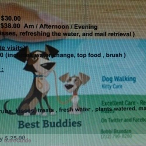 Pet Care Provider Bobbi B's Profile Picture