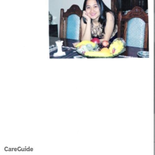 Canadian Nanny Provider Maria Cecilia C's Profile Picture