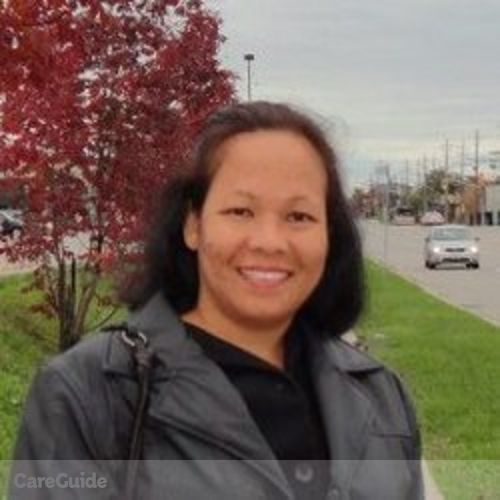 Canadian Nanny Provider Jeanette Agcarao's Profile Picture