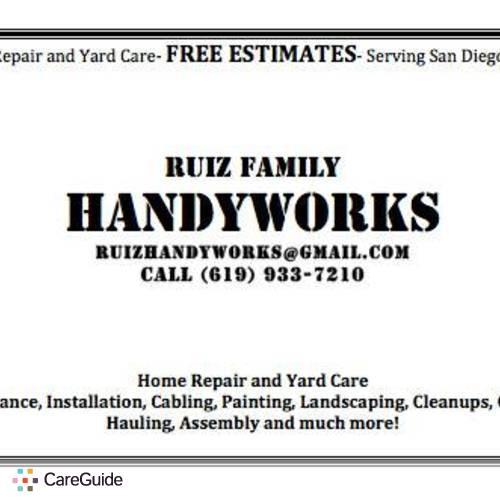Handyman Provider Ed Ruiz's Profile Picture