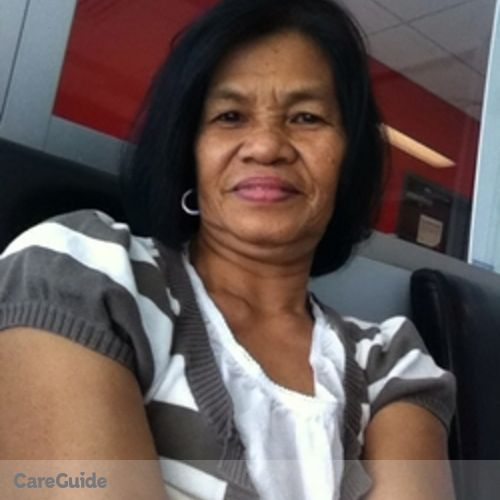 Canadian Nanny Provider Purificacion E's Profile Picture
