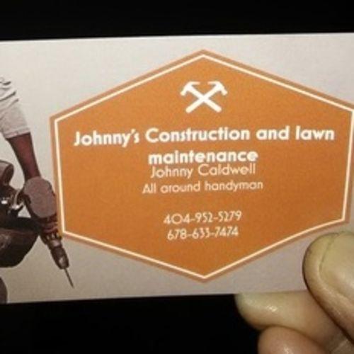 Handyman Provider Johnny C's Profile Picture