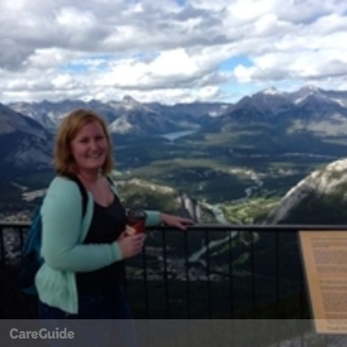 Canadian Nanny Provider Samantha P's Profile Picture