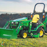 Compact Tractor Backhoe Service