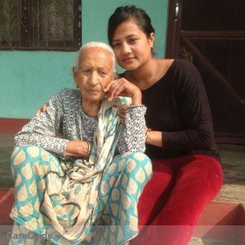 Canadian Nanny Provider Renuka Karki's Profile Picture