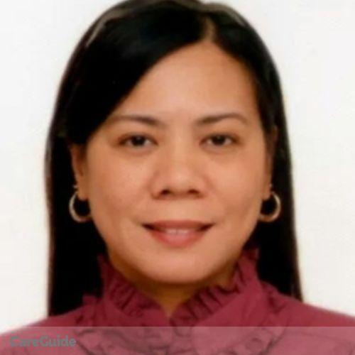 Canadian Nanny Provider Anabelle Asuncion's Profile Picture