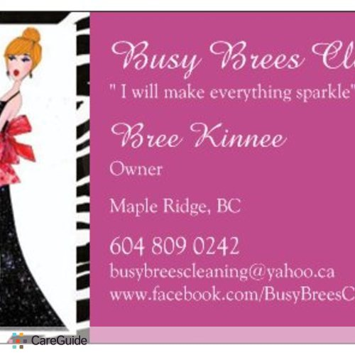 Housekeeper Provider Bree Kinnee's Profile Picture