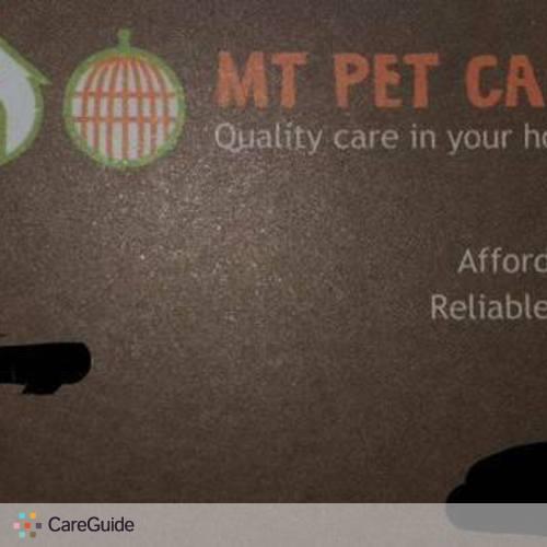 Pet Care Provider Marissa Care's Profile Picture