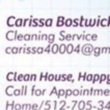 Carissa house cleaning
