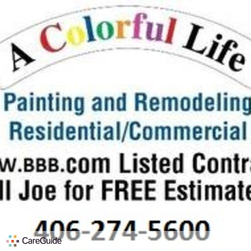 Painter Provider Joe Morrison's Profile Picture