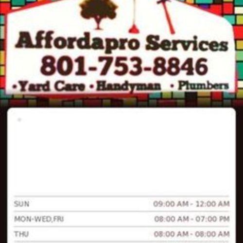 Handyman Provider Henrietta M Affordapro Services's Profile Picture