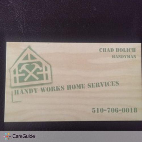 Handyman Provider Chad Bolich's Profile Picture