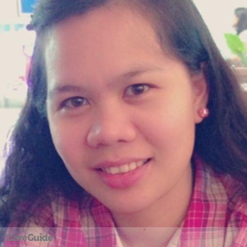 Canadian Nanny Provider Michelle Pie Daquiz's Profile Picture