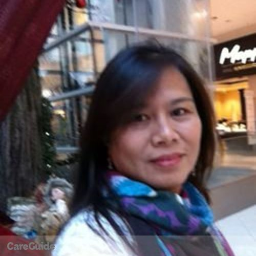 Canadian Nanny Provider Estela Teh's Profile Picture