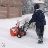 Most afforable roof snow removal Guaranteed lowest rates
