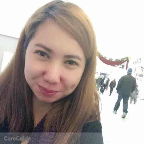 Canadian Nanny Provider Claire Ann Rebuldela's Profile Picture