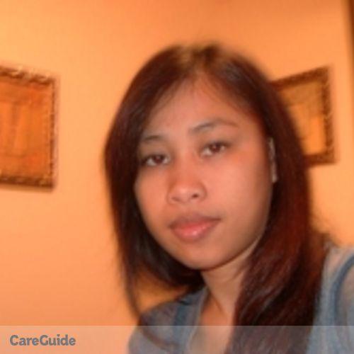 Canadian Nanny Provider Ma. Cynthia Credito's Profile Picture