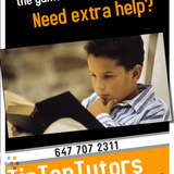 TipTopTutors - Tutors available for private and group session all around Markham & Scarborough