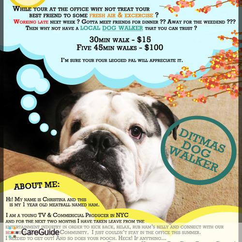Pet Care Provider Christina Alvarado's Profile Picture