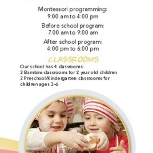 Child Care Provider Solid Foundations Montessori School's Profile Picture