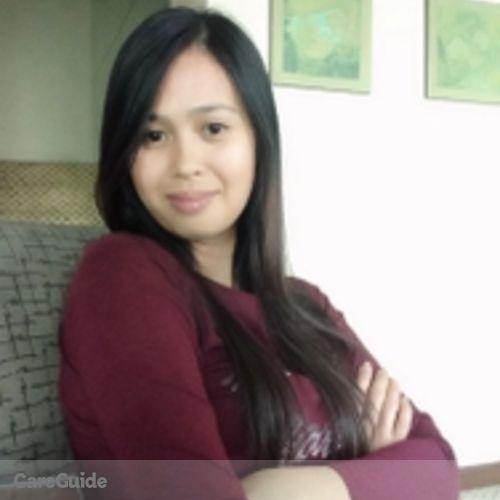 Canadian Nanny Provider Alma Olaira's Profile Picture